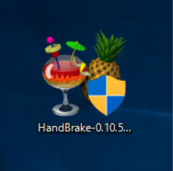 Handbrake アイコン